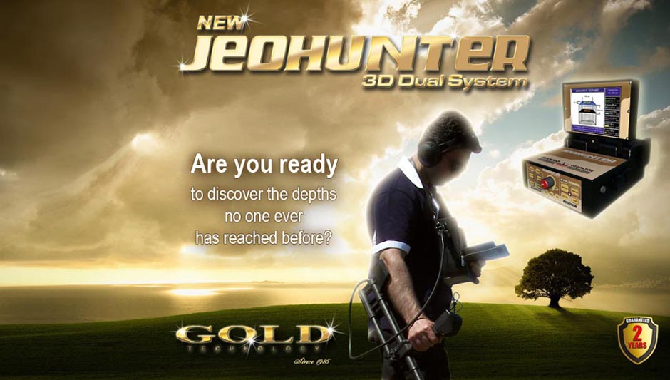 Are you ready to discover the dephts no one ever has reached before? - JeoHunter 3D System