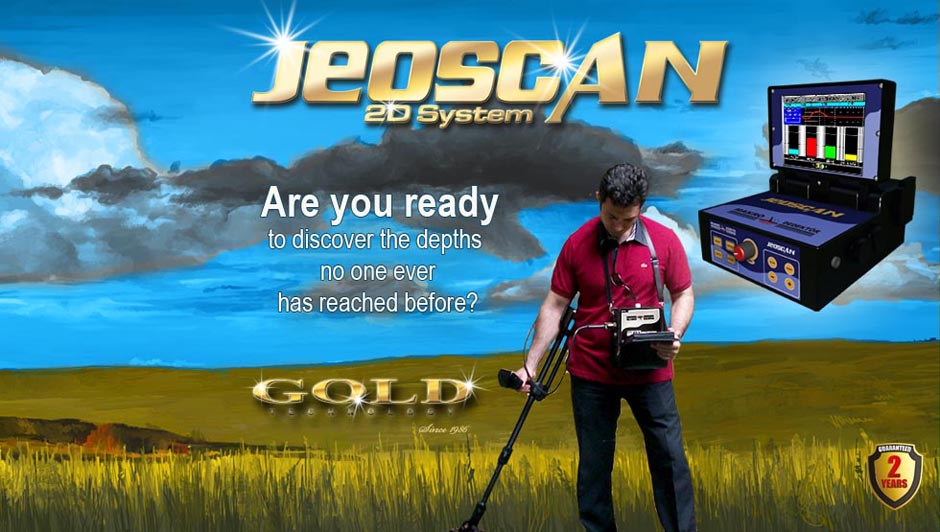 Are you ready to discover the dephts no one ever has reached before? - JeoScan 2D Systeem